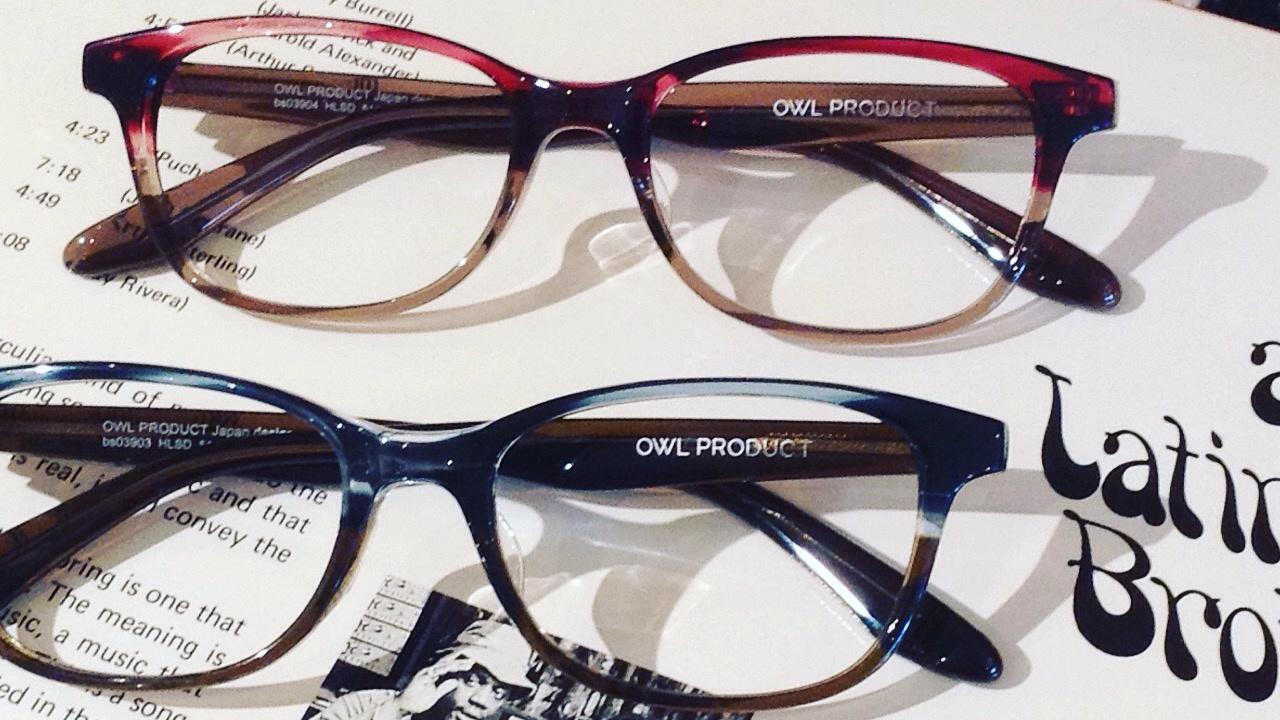 おしゃれなメガネ OWL PRODUCT | 静岡 海野眼鏡店